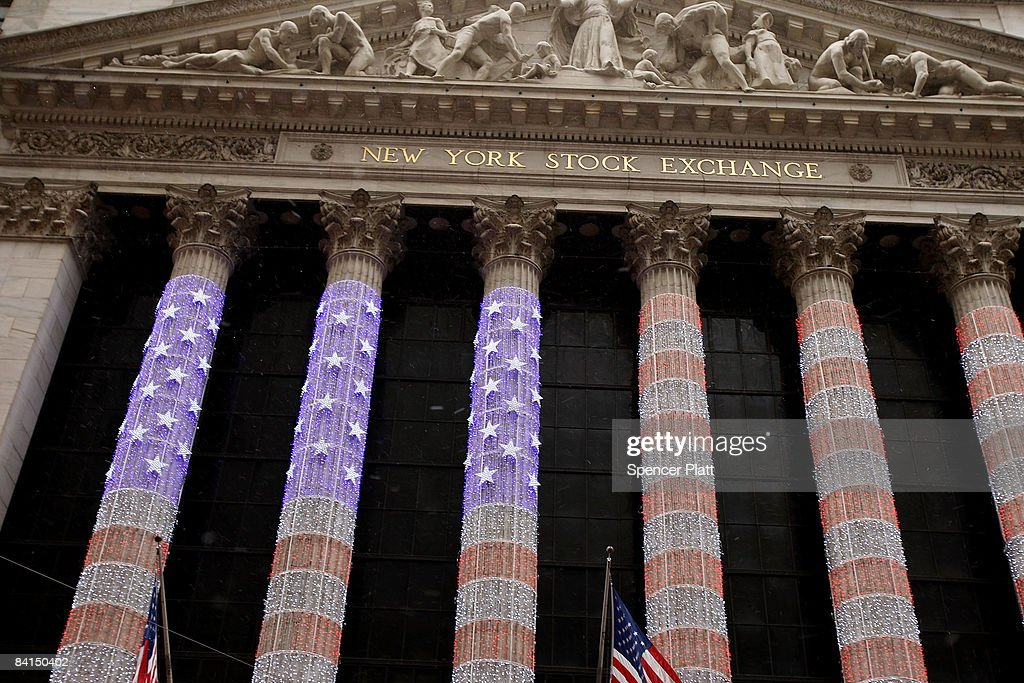The New York Stock Exchange (NYSE) December 31, 2008 in New York City. Wednesday is the last day of trading on the exchange in what has been one of the most tumultuous years in finance in the nation's history.