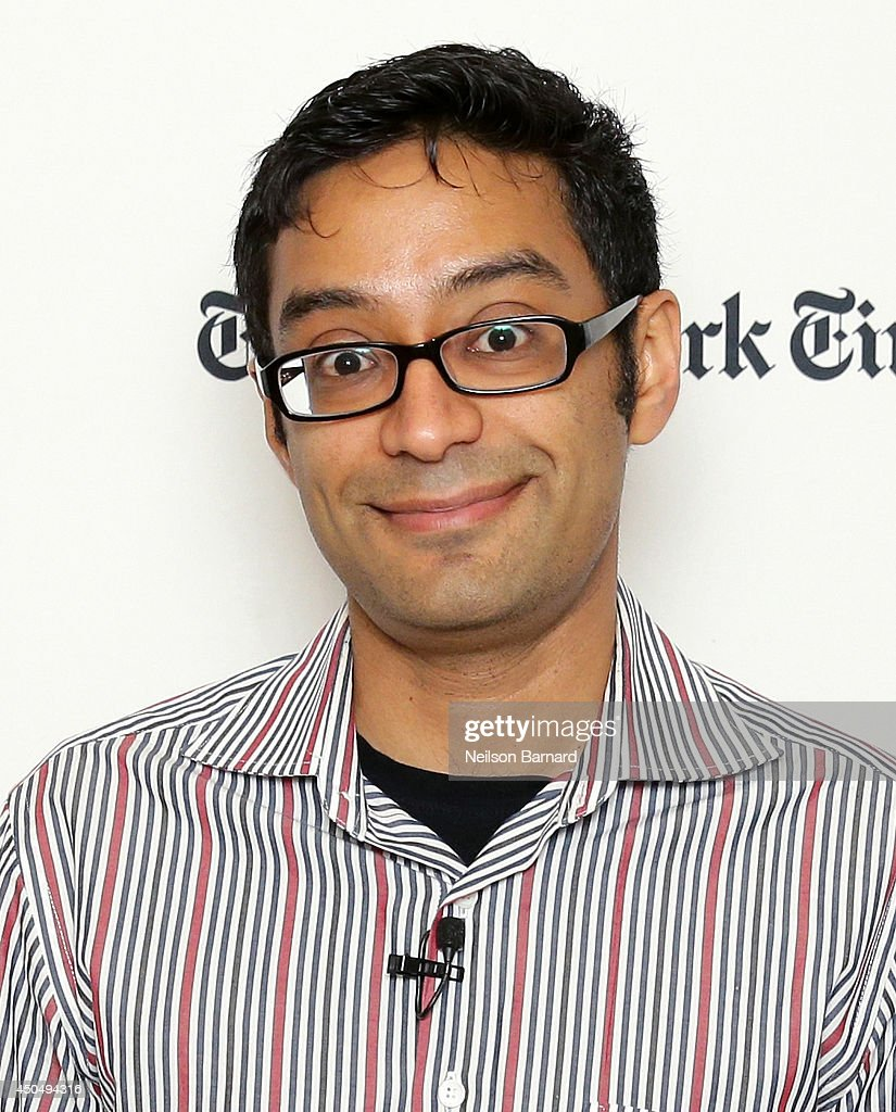 The New York Times Business Day State of the Art Columnist Farhad Manjoo attends The New York Times Next New World Conference on June 12, 2014 in San Francisco, California.