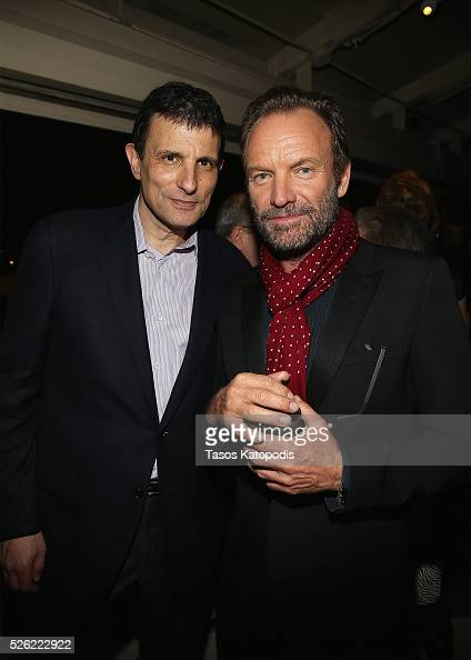 The New Yorker editor David Remnick and Sting attend The New Yorker's annual party kicking off The White House Correspondents' Association Dinner...