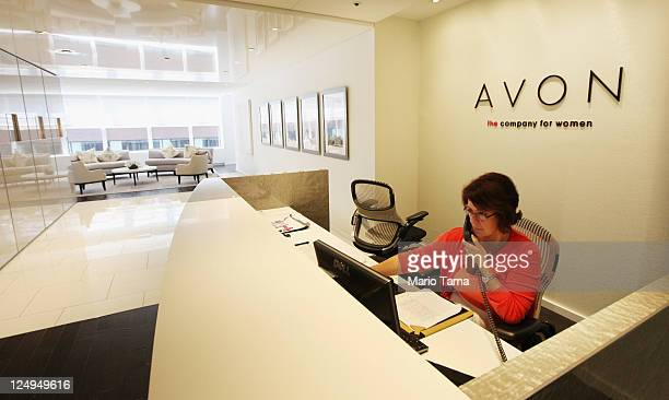 The newly completed US headquarters for Avon Products Inc are seen on September 14 2011 in New York City The 'green' 275000 squarefoot headquarters...