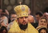 UKR: Metropolitan Epiphanius First Holly Mass In Kiev