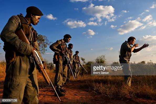 The newly formed IAPF The International AntiPoaching Foundation leading a Probono training workshop for Rhino protection for Rangers who have come...