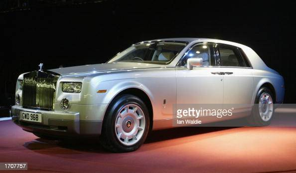 The newly unveiled RollsRoyce 'Phantom' model is displayed January 3 2003 in Goodwood England The Phantom is the first entirely new RollsRoyce built...