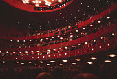 The newlyopened John F Kennedy Center for the Performing Arts in Washington DC USA 1971
