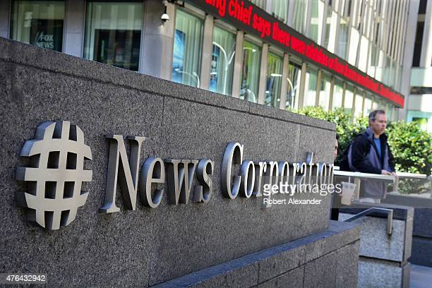 The News Corp Building on Avenue of the Americas in Midtown Manhattan is the American headquarters for News Corporation controlled by Australian...