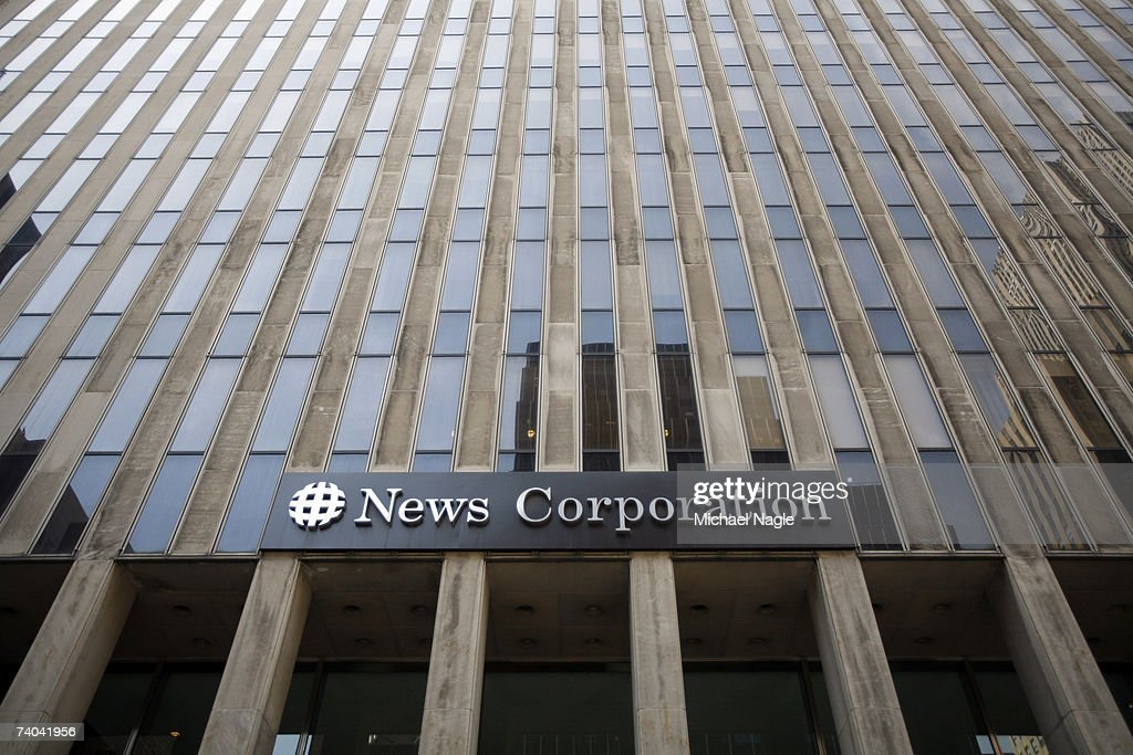 The News Corporation building is shown May 01, 2007 in New York City. Rupert Murdoch's News Corporation made an unsolicited bid today of $5 billion for Dow Jones and Co., the parent company of the The Wall Street Journal.