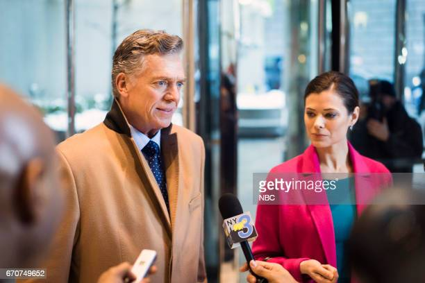 UNIT 'The Newsroom' Episode 1817 Pictured Christopher McDonald as Harold Coyle Peyton List as Margery Evans