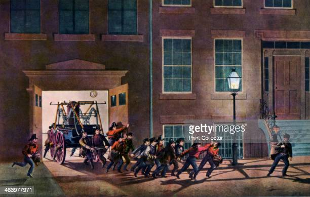 'The Night Alarm The Life of a Fireman' 1854