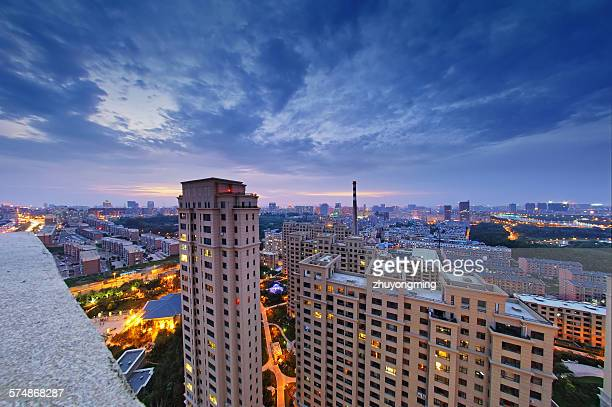 The night view of Changchun