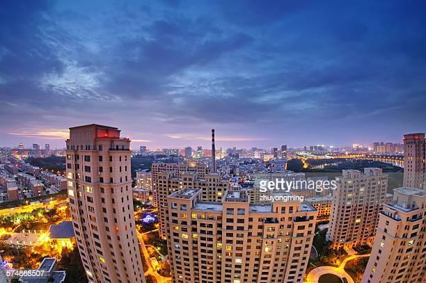 The night view of Changchun