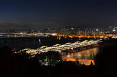 The night view of Han river