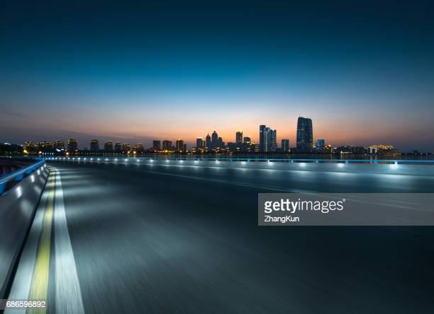 The night view of Suzhou