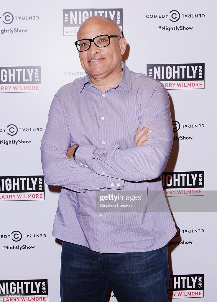 'The Nightly Show' host Larry Wilmore attends 'The Nightly Show' Premiere Party at Stone Rose Lounge on January 22 2015 in New York City