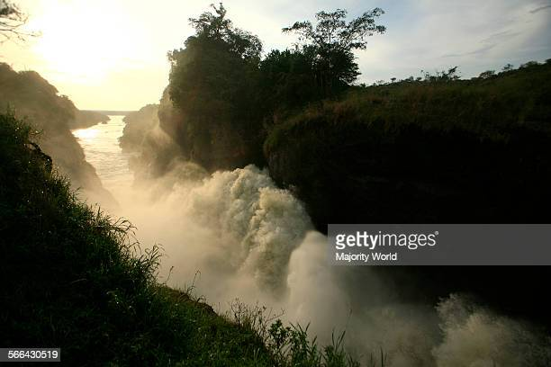 The Nile River Murchison Falls Murchison Falls National Park Uganda