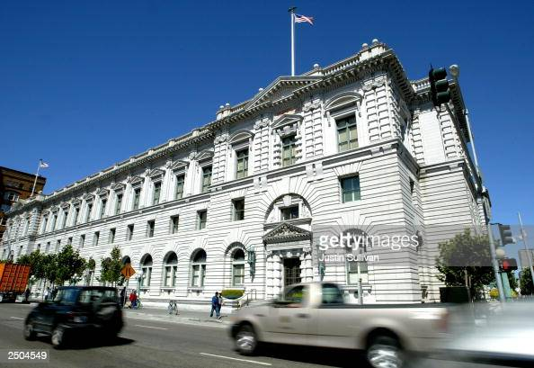 The Ninth Circuit Court of Appeals is seen September 17 2003 in San Francisco California State officials are preparing to petition the the whole...