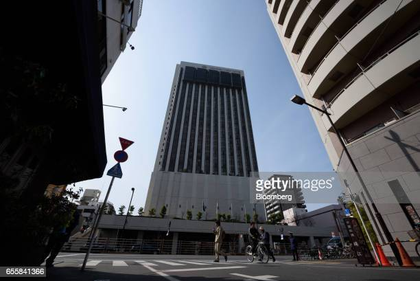 The Nippon View Hotel Co Asakusa View Hotel stands in the Asakusa district of Tokyo Japan on Monday March 20 2017 Japan's land prices will be...