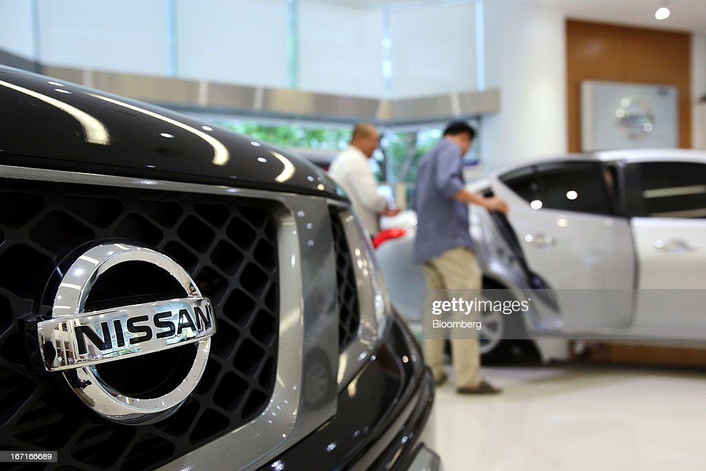 Nissan 39 S Eco Cars On Display At A Dealership Getty Images