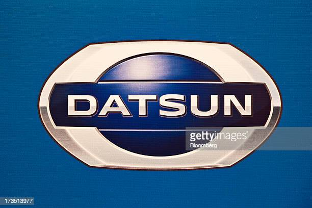 nissan motor co datsun go stock photos and pictures