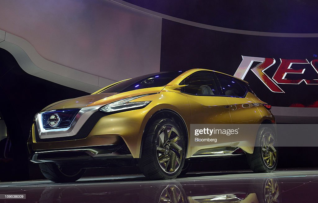 The Nissan Motor Co. Resonance concept sports utility vehicle (SUV) is unveiled during the 2013 North American International Auto Show (NAIAS) in Detroit, Michigan, U.S., on Tuesday, Jan. 15, 2013. The Detroit auto show runs through Jan. 27 and will display over 500 vehicles, representing the most innovative designs in the world. Photographer: David Paul Morris/Bloomberg via Getty Images
