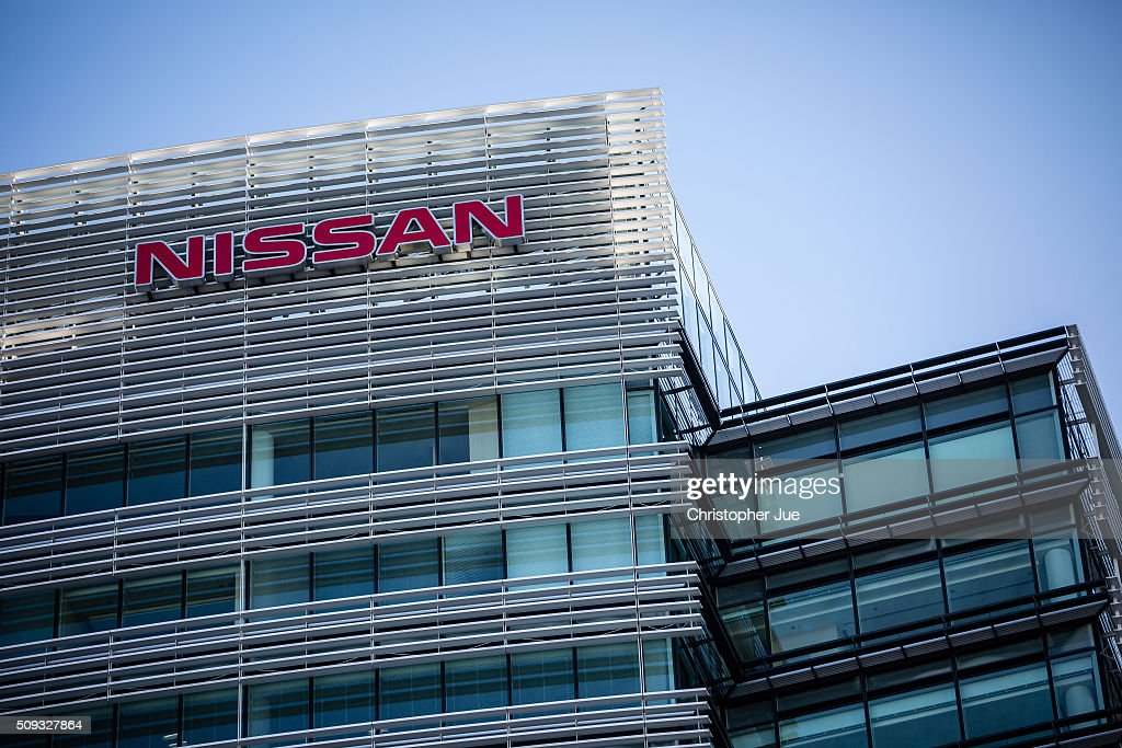The Nissan name is displayed on the Nissan Motor Co., Ltd. headquarters on February 10, 2016 in Tokyo, Japan. Nissan announced the financial results for the third quarter of fiscal year 2015 ending March 31, 2016. The net revenues resulted in 8.9430 trillion yen, the operating profit, 587.5 billion yen, and the net income 452.8 billion yen, For the April-December 2015 period, Nissan sold a total of 3,891,000 vehicles globally.