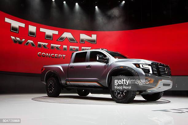 The Nissan Titan Warrior concept pick up truck at the North American International Auto Show in Detroit Michigan Toronto Star/Todd Korol