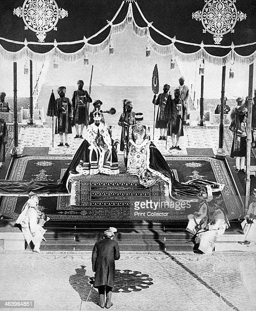 The Nizam of Hyderabad pays hommage at the Delhi Durbar The King and Queen travelled to India to attend the Delhi Durbar held to celebrate their...