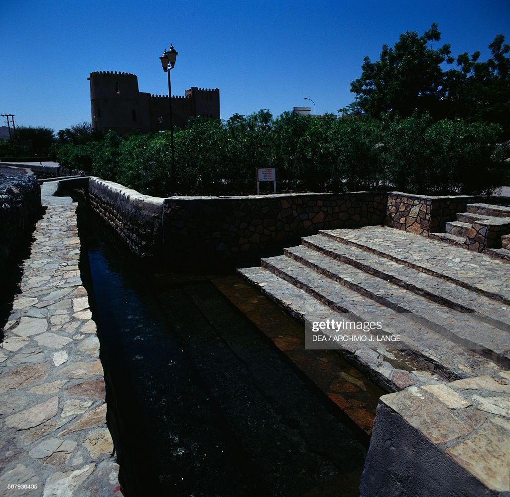 The Nizwa Fort 1668 Oman 17th century