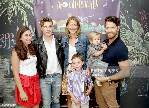 'The Nocturnals' artist Kate Liebman Host Jeremiah Brent 'The Nocturnals' Author Tracey Hecht and son Leo host Nate Berkus and daughter Poppy...