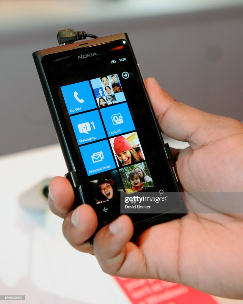 The Nokia Lumia 800 Window Phone on display at the 2012 International Consumer Electronics Show at the Las Vegas Convention Center January 10, 2012 in Las Vegas, Nevada. CES, the world's largest annual consumer technology trade show, runs through January 13 and is expected to feature 2,700 exhibitors showing off their latest products and services to about 140,000 attendees. The handset is due to be released in the U.S. in February.
