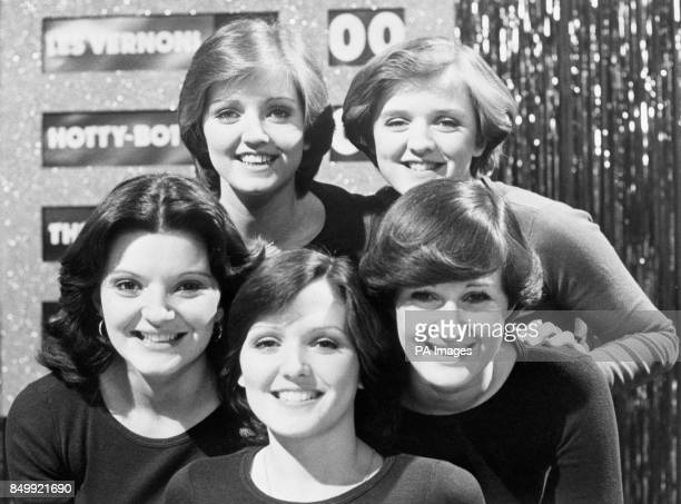 The Nolan Sisters who are due to appear tonight on the Les Dawson special 'Dawson and Friends' Linda and Bernadette 'Bernie' Anne Maureen and Denise