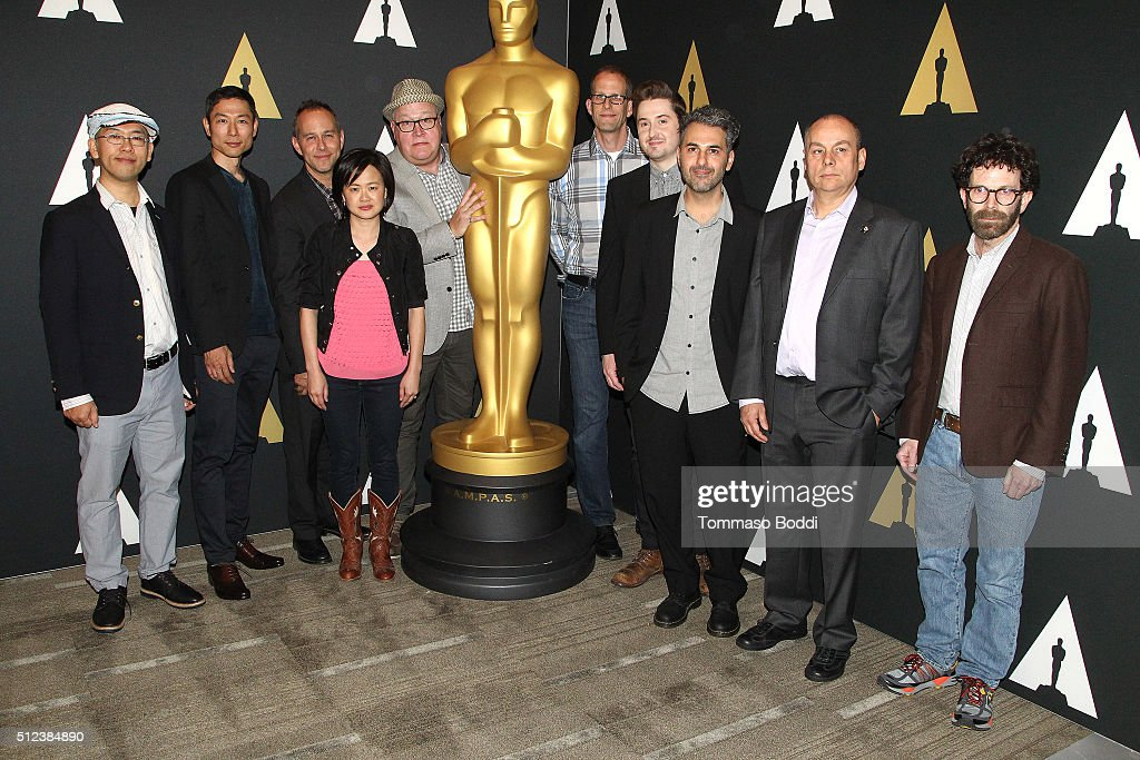 The nominees for the Animated Features attend the 88th Annual Academy Awards Oscar Week Celebrates Animated Features held at AMPAS Samuel Goldwyn...