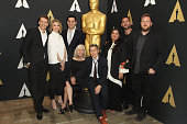 The nominees for the Documentary Short Subject attend the 88th annual Academy Awards Oscar Week celebrates Documentaries at AMPAS Samuel Goldwyn...