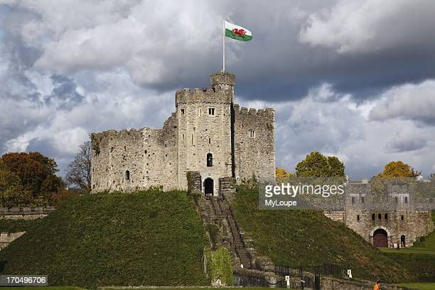 The Norman Keep Cardiff Castle Wales United Kingdom