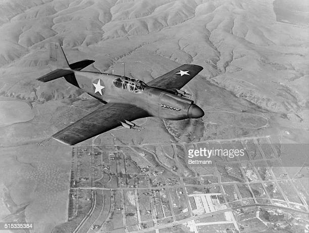 The North American F51 Mustang is powered by an inline engine rated at 1380 to 1490 horsepower at take off depending on the engine model A single...