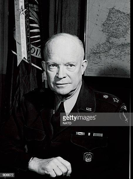 The North Atlantic Council appoints NATO's first Supreme Allied Commander General Dwight D Eisenhower 12/9/50 NATO celebrates its fiftieth...