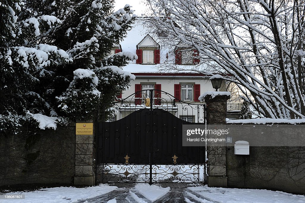 The North Korean embassy is seen on December 19, 2011 in Muri Bei Berne, Berne, Switzerland. Following the death of North Korean leader Kim Jong-il of a heart attack on 17 December, 2011 at the age of 69, his third son Kim Jong-Un is expected to succeed his father. Kim Jong-Un is believed to have studied at the International School of Berne, under a pseudonym, which provides education for 280 students of diplomatic, academic and business families of over 40 nationalities.