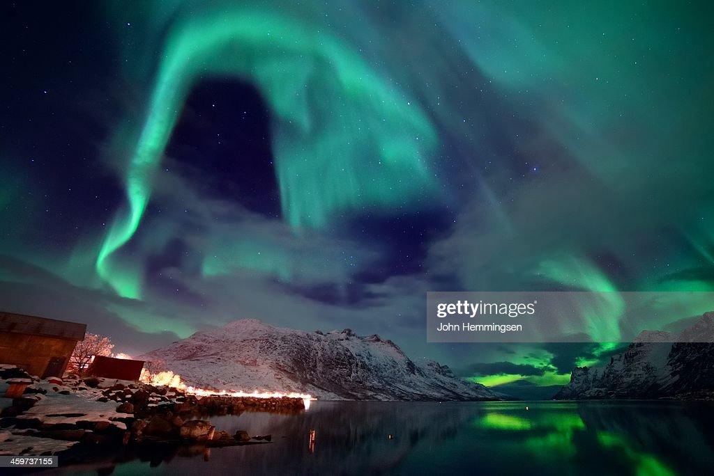 The north sky : Stock Photo