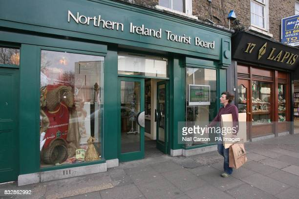 The Northern Ireland Tourist Board office in Dublin which slated in the House of Commons today for being less appealing than a funeral home