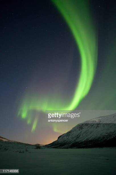 The Northern Lights, Tromso, Lapland, Norway.