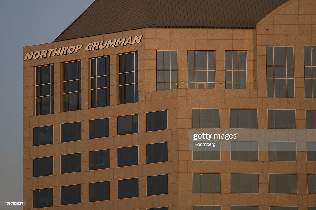 The Northrop Grumman Corp. headquarters stands in Falls Church, Virginia, U.S., on Friday, Nov. 16, 2012. President Barack Obama expressed confidence that he and Congress would reach an agreement that will avoid the automatic spending cuts and tax increases that are scheduled to occur at the end of the year. The fiscal cliff is the $607 billion combination of automatic spending cuts and tax increases scheduled to take effect in January. Lawmakers are trying to avert the cliff to prevent a short-term shock to the economy and reach an agreement on long-term deficit reduction. Photographer: Andrew Harrer/Bloomberg via Getty Images