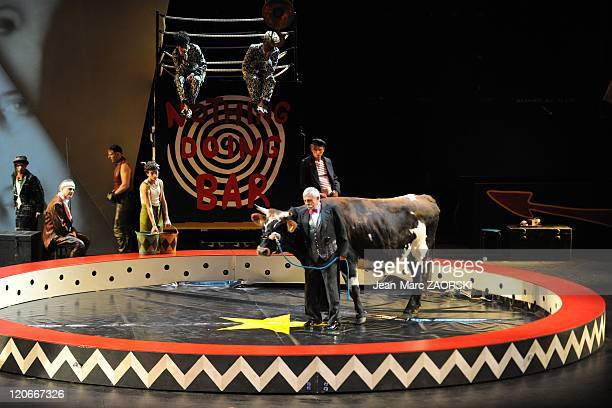 The Nothing Doing Bar of Darius Milhaud in Lyon France on November 27 2010 A view of The Nothing Doing Bar first part of Breasts of Tiresias in opera...