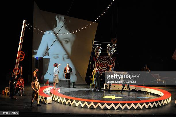 The Nothing Doing Bar of Darius Milhaud in Lyon France on November 27 2010 A general view of The Nothing Doing Bar first part of Breasts of Tiresias...
