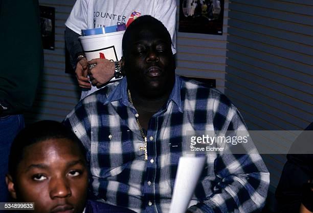 The Notorious BIG at Lifebeat Benefit New York 1990s