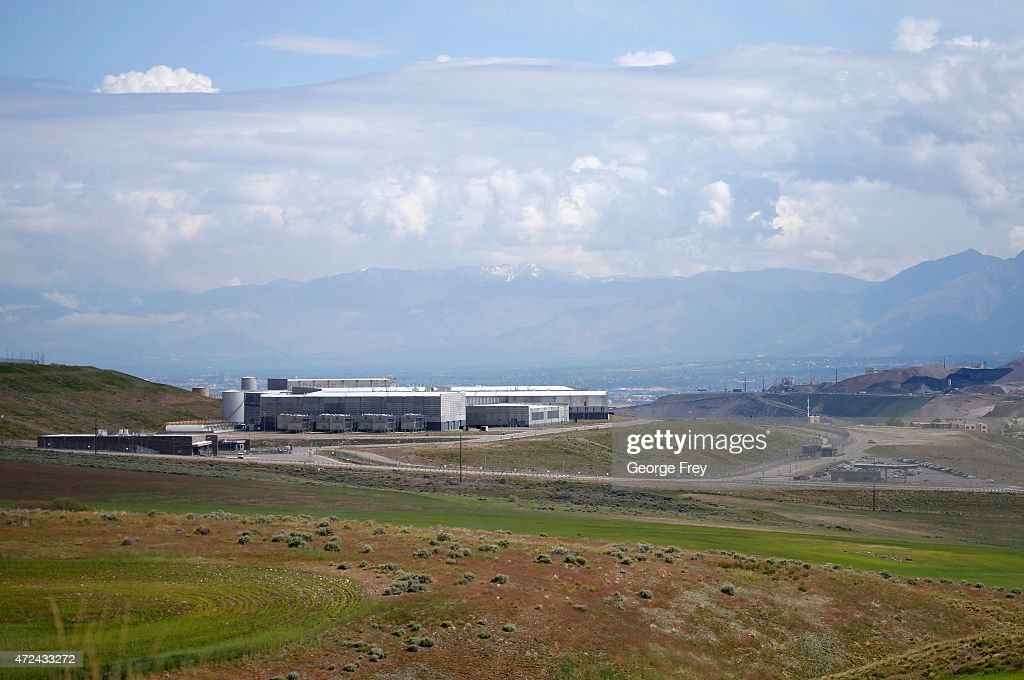 The NSA's new spy data collection center is seen just south of Salt Lake City May 7 2015 in Bluffdale Utah Reportedly the center is the largest of...