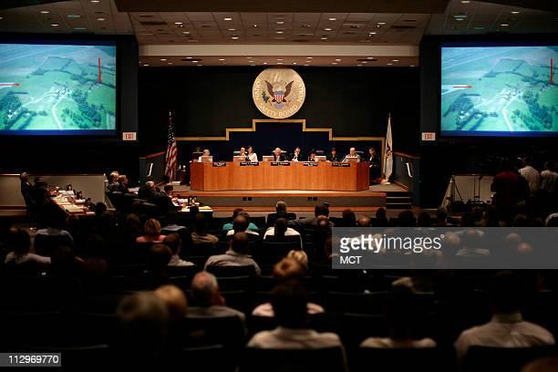 The NTSB meeting on the Lexington Kentucky crash investigation on Comair Flight 5191 Thursday July 26 2007 in Washington DC