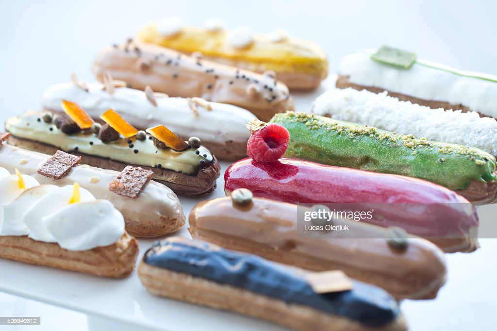 The Nugateau eclair shop photographed for the Now Open column.