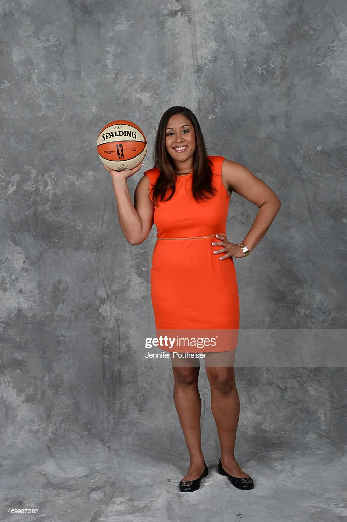 The number three overall pick Kaleena Mosqueda-Lewis of the Seattle Storm poses for a portrait during the 2015 WNBA Draft Presented By State Farm on April 16, 2015 at Mohegan Sun Arena in Uncasville, Connecticut.