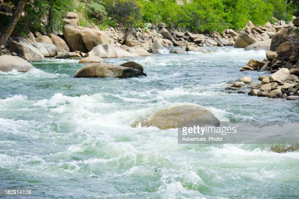 Die Zahlen Arkansas River Whitewater Rapids