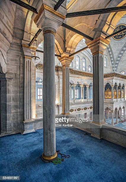 The Nuruosmaniye Mosque in Istanbul, Turkey