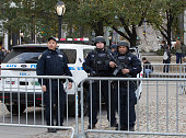 The NYPD and New York City task force were on high alert at the 89th Macys Thanksgiving Day Parade in New York City